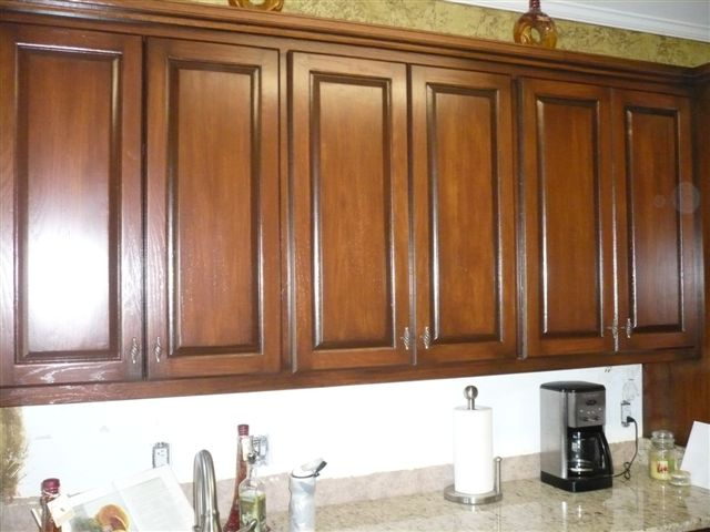 restaining cabinets without stripping gallery